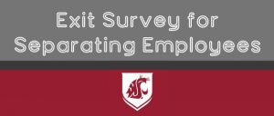 Exit Survey for Separating Employees.