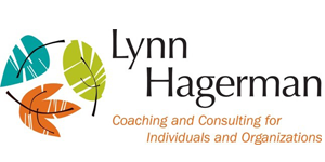 Lynn Hagerman business logo with the slogan: Coaching and consulting for individuals and organizations.
