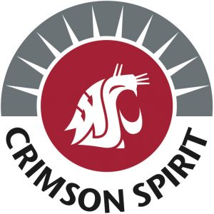 Crimson Spirit logo featuring a cougar head and the text Crimson Spirit.