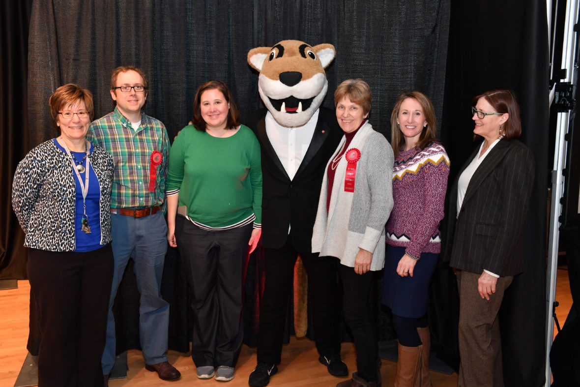 Employees from the WSU Budget Office