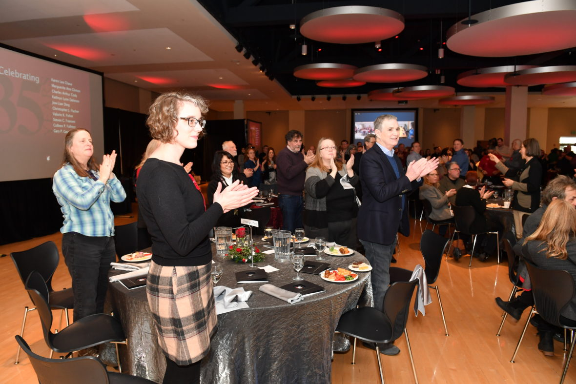 2018 Employee Recognition Reception Attendees