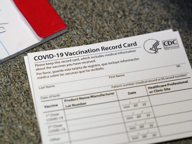 COVID-19 Vaccination Record Card